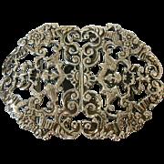REDUCED 1899 ENGLISH Silver Nurses Buckle