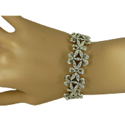 REDUCED STUNNING 18K Bracelet set with 500 Diamonds * * * * *