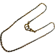 """SALE PENDING The finest of """"Albert"""" Watch Chains"""