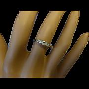 REDUCED 5 Stone Vintage Diamond Ring
