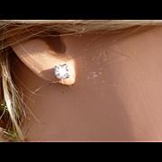 REDUCED 1 carat  Diamond EAR STUDS * * * * *
