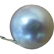 REDUCED Clips, Clips,Clips….The finest Cultured Pearl Ear Clips