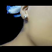 REDUCED Diamond Star 18k Ear Studs * * * * *