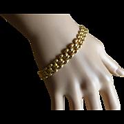 REDUCED Hallmarked Flexible Bracelet