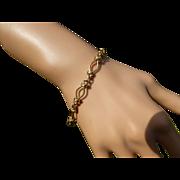 REDUCED 9 Carat GOLD light Bracelet