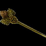 """Black - Hills Gold"" stick Pin"