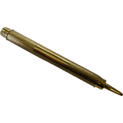 A London 1932 Gold retractable Pencil by  S. Mordan & Co.