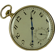 Gold 1924 LONDON Pocket Watch