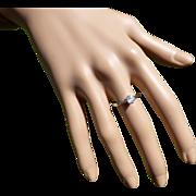 Quality  Engagement  Diamond / Platinum Ring