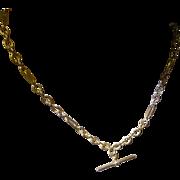 "Gold Hallmarked Double ""Albert"" or Neck Chain * * * * *"