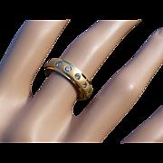 5 Stone Engagement, Eternity or Wedding 18k Ring