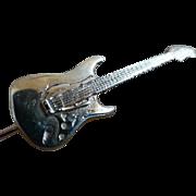 Guitar lapel Gold Pin