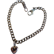 1981 Gold bracelet with Heart