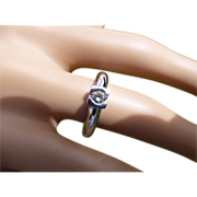 REDUCED Chunky  Diamond White Gold Ring * * * * *