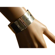 REDUCED Silver Buckle style Bangle