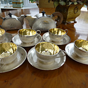 REDUCED Ancient Oriental  Solid Silver Tea Service