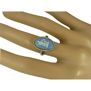 Wedgwood Silver Ring * * * * *