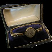 REDUCED Retro Ladies Gold 1967 Watch & Bracelet