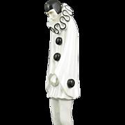 Roland Paris Pierrot Art Deco Porcelain Figure
