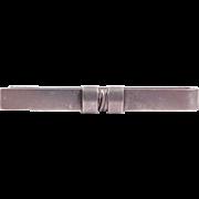 Georg Jensen Modernist Sterling Denmark Tie Bar