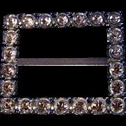 SALE PAULINE TRIGERE ~ Rhinestone/Crystal Sash Buckle ~ Vintage Glamour