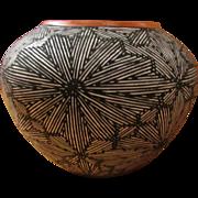SALE ACOMA PUEBLO Fine Line Seed Pot ~ A Delma Vallo, Native American, Work Of ...