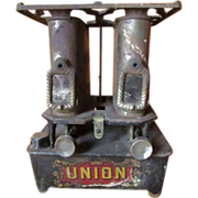 SALE Antique1890's  UNION DUAL BURNER Sad Iron (Flat Or Silk Iron) Heater ~ It ...