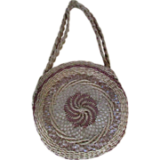 SALE 1930's Woven Native American Basket Purse ~ Crafted By A Member Of The ...