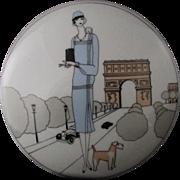 SALE Vintage Creation Jacques Lobjoy Fine Porcelaine D'Auteuil - Paris, France Art Deco ARC De