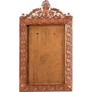 Antique French Bronze Dore Picture Frame Circa 1880-1890