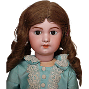 SALE PENDING French Bisque Doll  22 inch  SFBJ #230