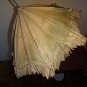 SOLD French Sill Doll Parasol