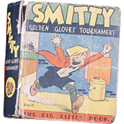 Big Little Book Smitty Golden Gloves Tournament from 1934