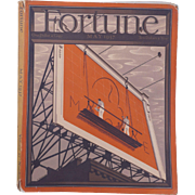 Vintage Fortune Magazine May 1937