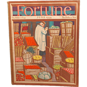 REDUCED Vintage Fortune Magazine June 1934