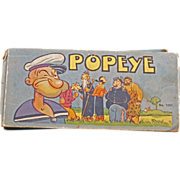 REDUCED Adventures of Popeye #1051 - Saalfield Publishing from 1934