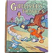 Illustrated Gulliver's Travels # 1172 Saalfield Publishing from 1939