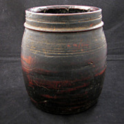 REDUCED Early 20th century Nepalese handmade wood food container