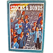 REDUCED Stock & Bonds Board Game (1964)