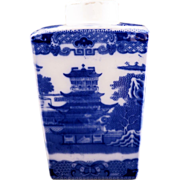 REDUCED Reproduction Ringtuns Limited Tea Merchant Newcastle upon TYNE porcelain tea caddy ...