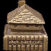 Vintage Fort Snelling metal souvenir memorabelia
