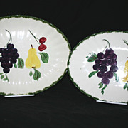Blue Ridge Fruit Fantasy Platter Set