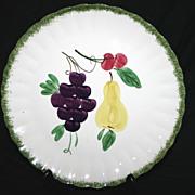 SALE Blue Ridge Fruit Fantasy Round Platter