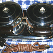 Lady Dover Twin Electric Waffle Irons
