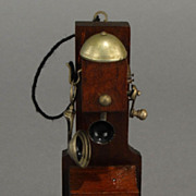 Wall Crank Telephone