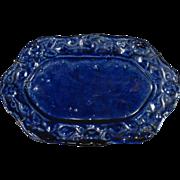 Dollhouse Glazed Faience Platter