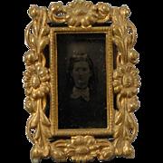 Cast Brass Easel Frame