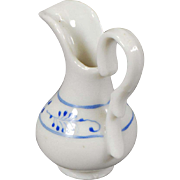 German Blue and White Pitcher