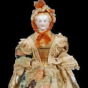 German Parian Lady Dollhouse Doll