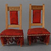 Dollhouse Chairs